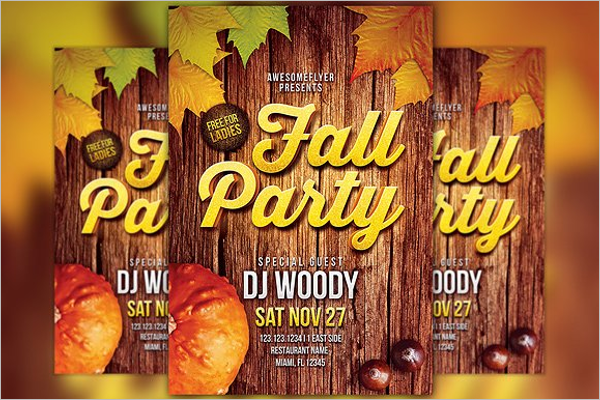 Fall Flyer Template Download