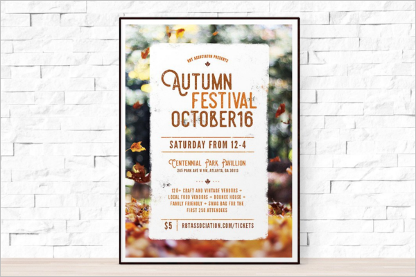 Fall Flyer Template Ms Word