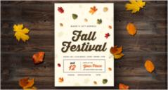 Fall Flyer Templates