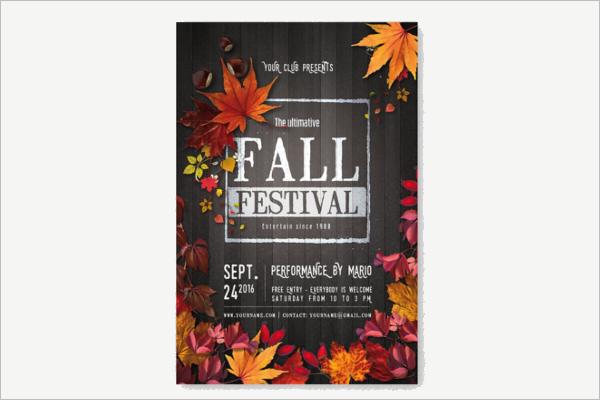 FallSeason Flyer Template