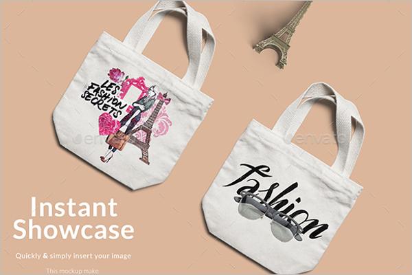 Fashion Bag Mockup Design