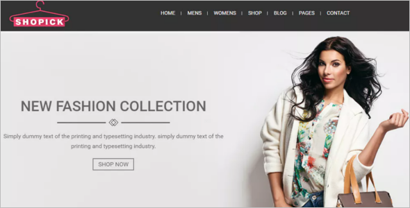 Fashion Blog Bootstrap Theme