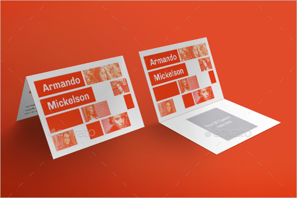 Fashion Design Business Card Template