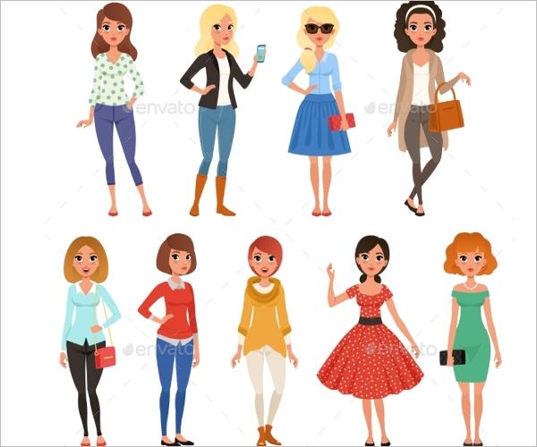 Fashion Dress Design template