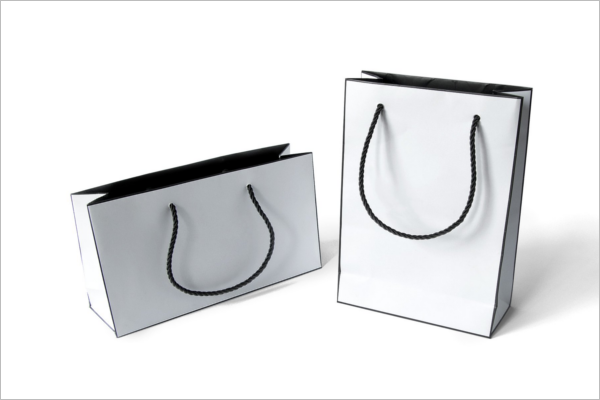 Fashion Paper Bags Mockup Design