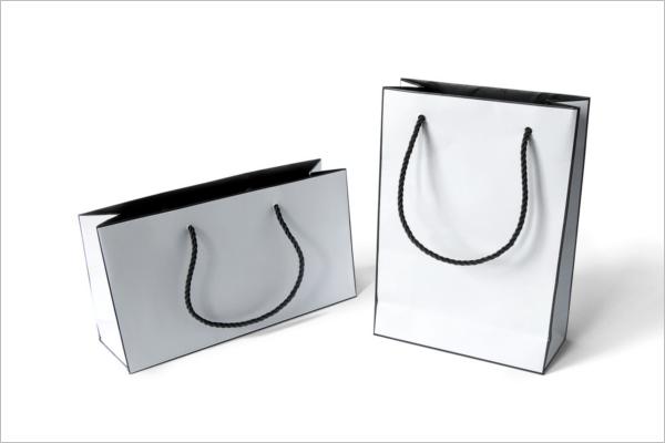 Fashion Paper Bags Mockup Design