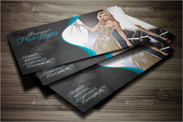 Fashion Photography Business Card Design