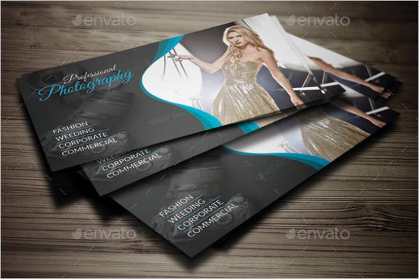 Fashion Photography Business Card Design