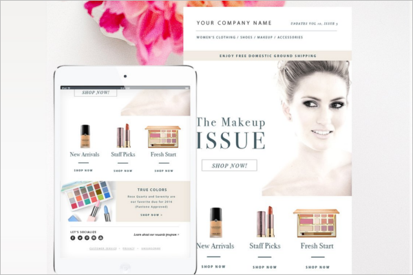 Fashionable Email Template