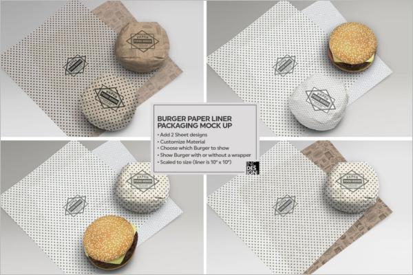 Fast Food Packaging Mockup –