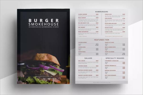 Fine DiningRestaurant Menu Design