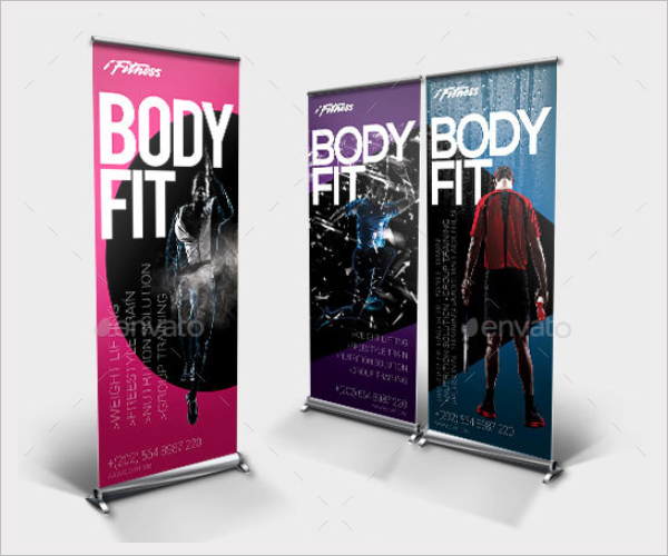 Fitness Banner Template