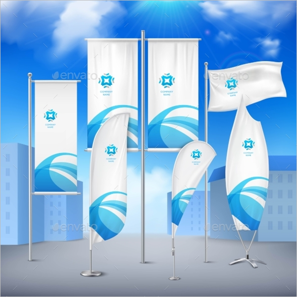 Flag Banner Collection Design