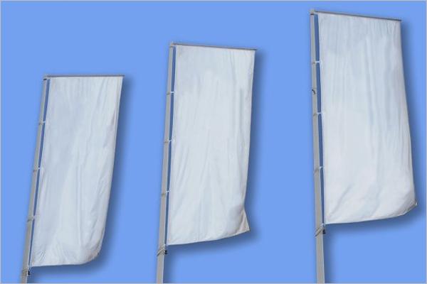 Flag Banner Minecraft Template