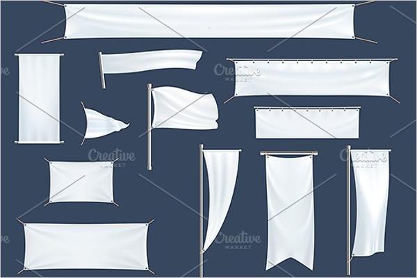 Flag Bunting Banner Design