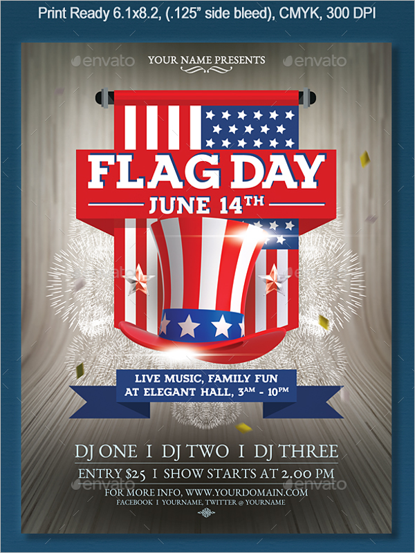 Flag Flyer Template