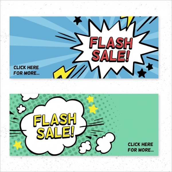 Flash Sale Banner Design