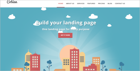 Flat Bootstrap WordPress Theme