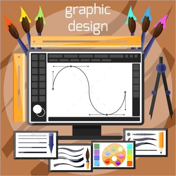 Flat Graphic Design Template