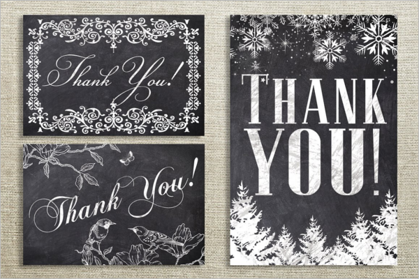 Floral Thank You Card Bundle