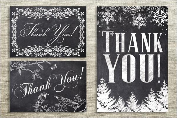 Floral Thank You Card Bundle