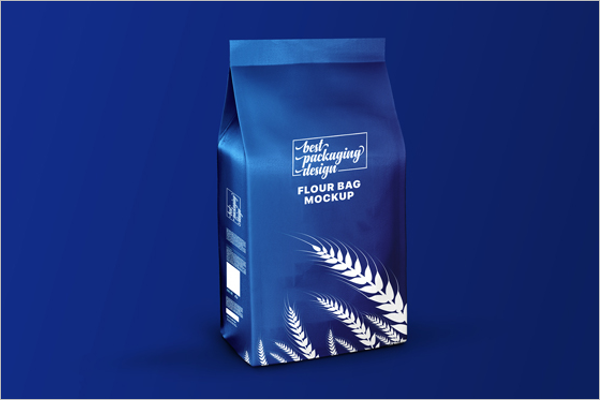 Flour Bag Free Packaging Mockup