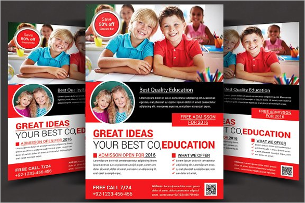Flyer Template For Student