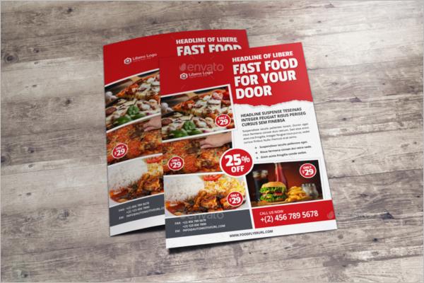 Food Menu Restaurants Flyer Design