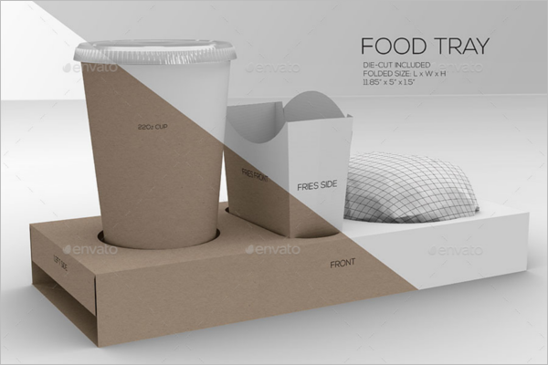 Food Packaging Bundle Mockup