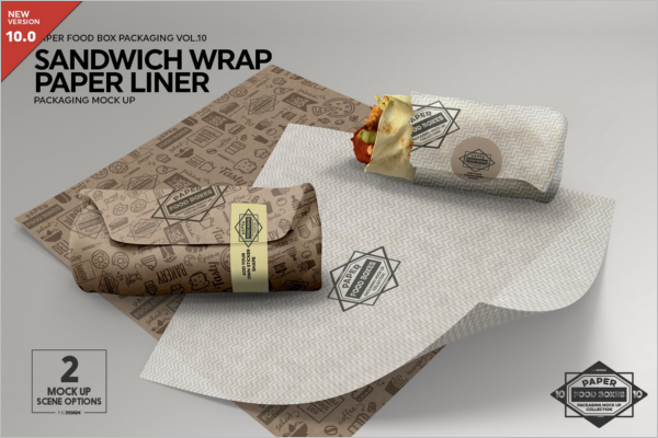 Food Packaging Design Mockup