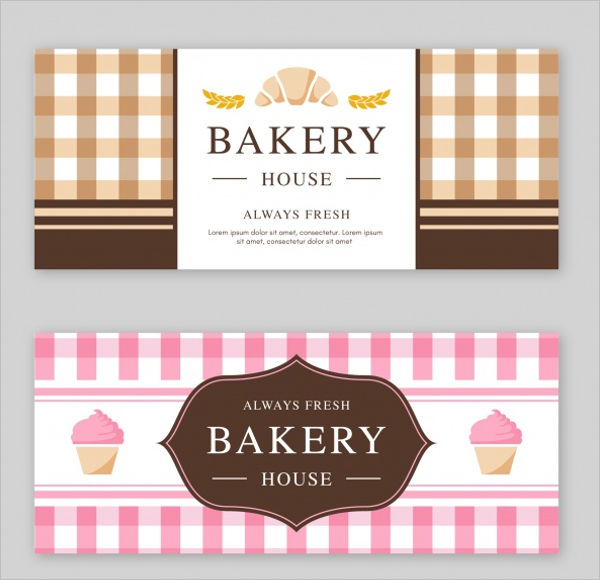 Food Sale Banner Template