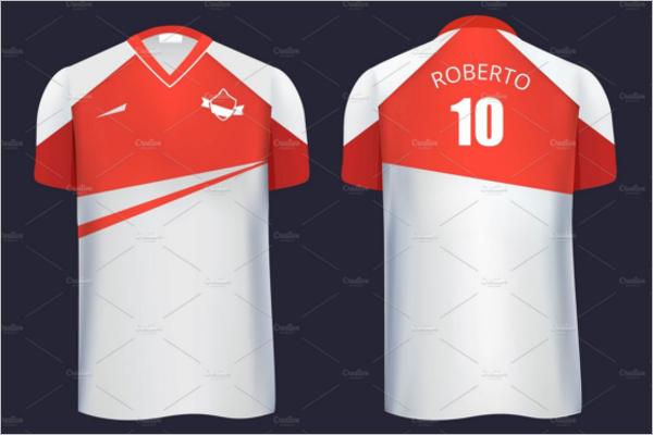 Football Uniform Mockup Design