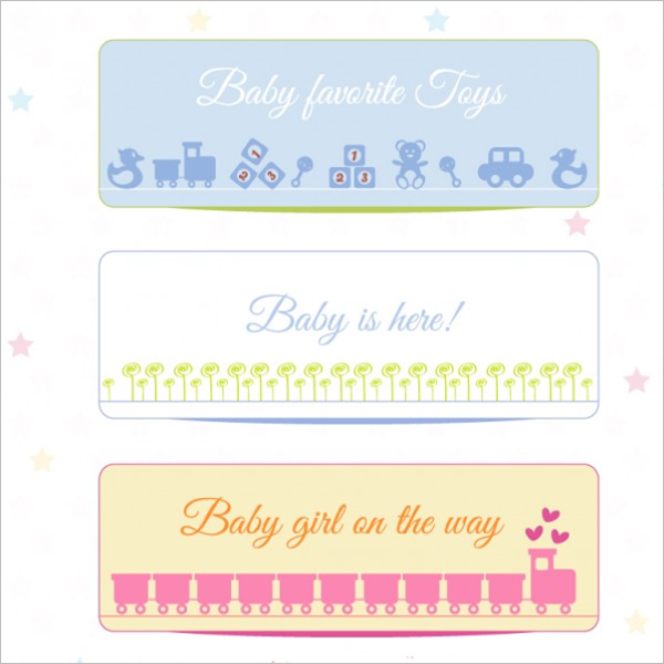Free Baby Shower Banner Template