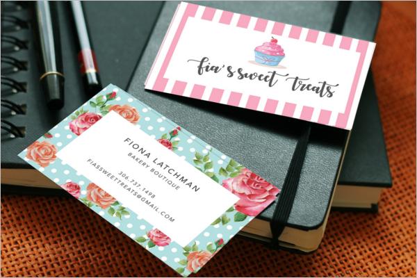 FreeBakery Business Card Template