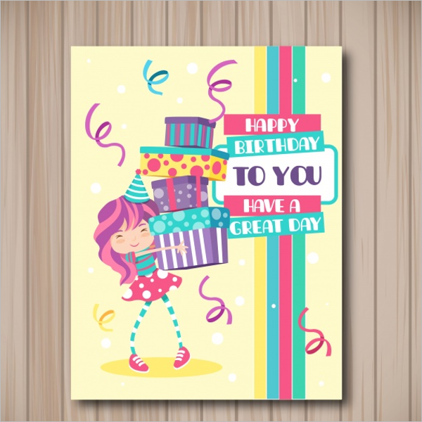 Free Birthday Gift Card Template