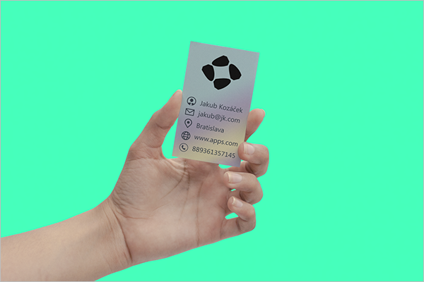 Free Electric Business Card Design