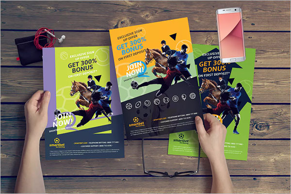 Free Horse Racing Flyer Template