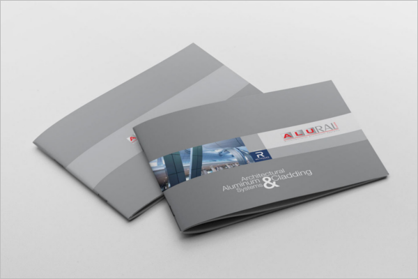 free landscape brochure template
