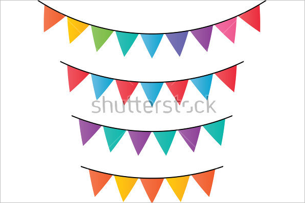 free pennant banner template