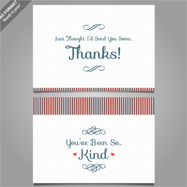 17+ Restaurant Thank You Card Templates Free Word Designs