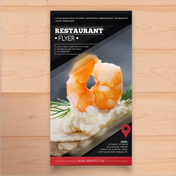 Free Restaurant Flyer Design