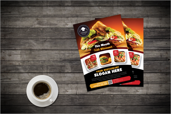 Free Restaurant Flyer Template
