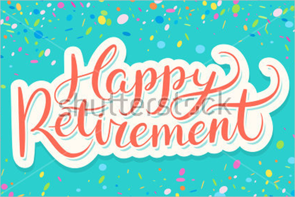 Free Retirement Party Banner