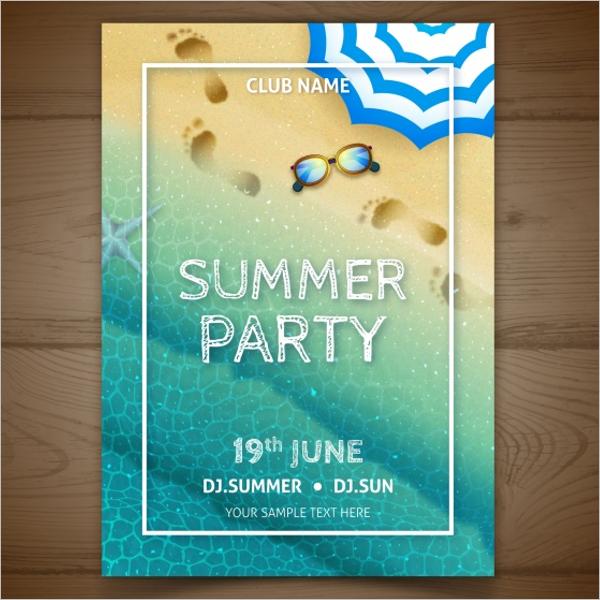 Free Season Event Flyer Design