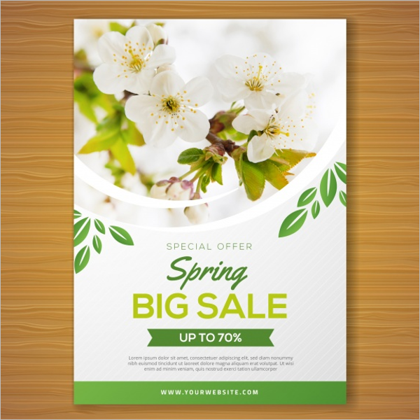 Free Spring Flyer Template