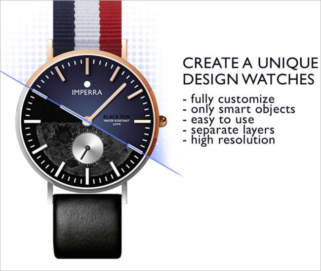 Free Watch Mockup Design