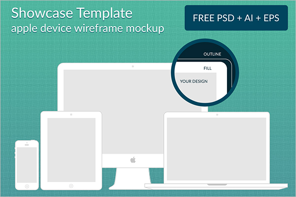 Free Wireframe Mockup Template
