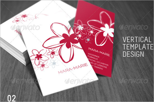 Fresh Beauty Business Card Template