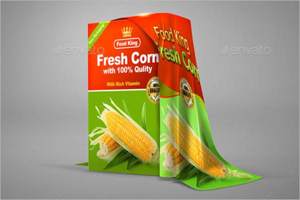 Fresh Product Box Mockup Template
