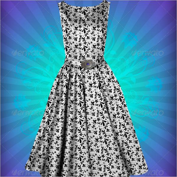 Frock Dress Design Template